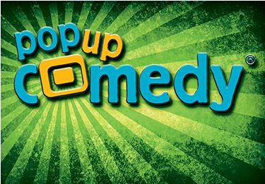 Logo Pop up Comedy